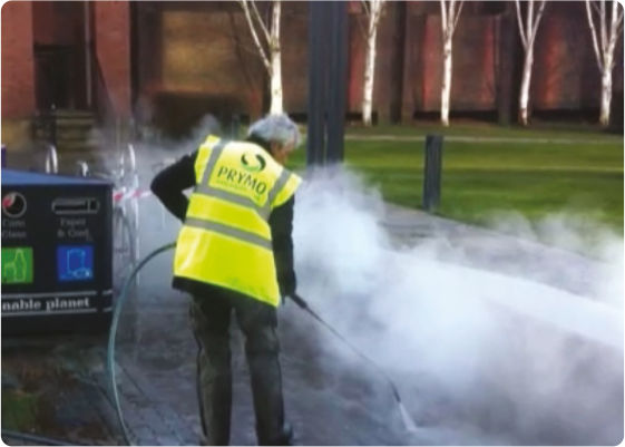Steam Pressure Cleaning
